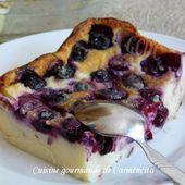 Cuajada aux myrtilles et Limoncello - Cuisine gourmande de Carmencita