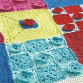 Curs monogràfic de Squares-Ganxet 10 de maig!! Curso monográfico de Squares-Crochet el 10 de mayo!!