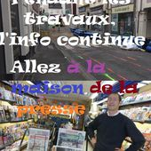 Pendants les travaux de la rue Voltaire, le commerce continue ! - Vierzonitude