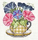 Tutoriel Broderie - Fleurs de Septembre - Passionnément Créative
