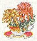 Tutoriel Broderie - Fleur de Novembre -