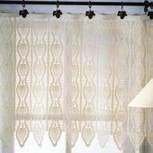 Tutoriel Crochet - Rideaux Pampilles - Passionnement Créative
