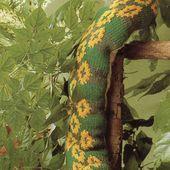 Tutoriel Tricot - Serpent - Passionnement Créative