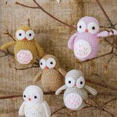 Tutoriel crochet - Chouette - Passionnement Créative