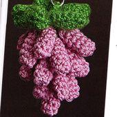 Tutoriel crochet - Grappe de raisin - Passionnement Créative
