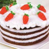 Tutoriel au crochet - un gâteau au crochet - Passionnement Créative