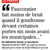 """[Législatives] """"Fauconnier fait moins de bruit quand il goudronne devant certaines portes six mois avant les municipales"""""""