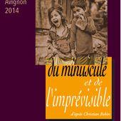"""""""du minuscule et de l'imprévisible"""" Création festival Off 2014"""
