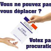Démarche citoyenne - Nous pouvons porter vos procurations - Orsay en Action