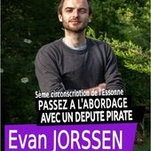 Législatives 2017 - 06 - Evan Jorssen (Parti Pirate) - Orsay en Action
