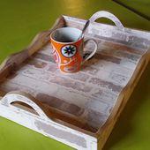 Tuto pour fabriquer un plateau en carton - le fouillis de kanou