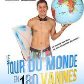 """Henry-David Cohen - """" Le Tour du Monde en 180 Vannes """" - Critique Humoristes"""