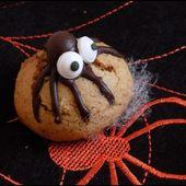 Biscuits araignées - Une toquée en cuisine
