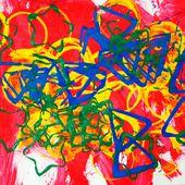 Empreintes géométrique de peinture (avec des enfants de petite section de maternelle et d'âge préscolaire) - Le blog de fannyassmat, le quotidien d'une assistante maternelle en mille et une anecdotes