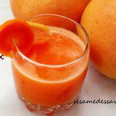 Jus d'agrumes et carotte - Le Sésame Des Saveurs