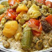 Couscous Belboula aux légumes - Le Sésame Des Saveurs