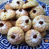 Macarons marocains aux amandes - Le Sésame Des Saveurs