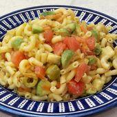 Salade de macaronis à l'avocat - Le Sésame Des Saveurs