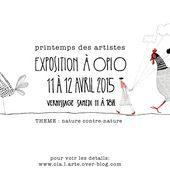 PRINTEMPS DES ARTISTES exposition - ola.l.arte