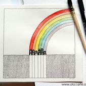 Arc-en-ciel - ola.l'arte