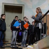 In preparation for Part 3 competition, French students visited George Sand's house - Home Sweet Home Erasmus+