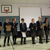 Heathfield Pupils' Dissemination Assembly - Home Sweet Home Erasmus+