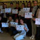 Calmette and Guérin students got their diplomas for the Erasmus+ competition - Home Sweet Home Erasmus+