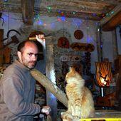 Scier bois et parler chat - l'exposition de l'entre-fêtes