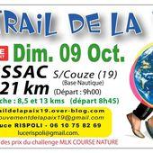 Le 14ème Trail de la Paix aura lieu le 9 octobre 2016
