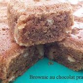 Brownie au chocolat praliné de Nestlé - Moi, Cook'ineuse & les gourmandises
