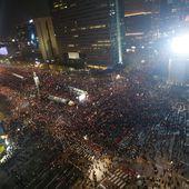 Séoul : une foule immense exige la démission de Park Geun-hye - Association d'amitié franco-coréenne
