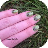 Esprit nature avec march - Le blog de Lily's Nail Art