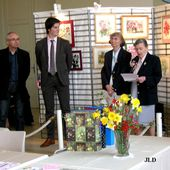 Inauguration du Salon du Signet 2015