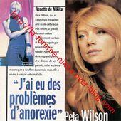 """1999/05 - Peta Wilson: """"J'ai eu des problèmes d'anorexie"""" - La Femme Nikita, chef-d'oeuvre inachevé"""