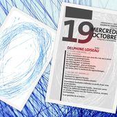 """EXPOSITION DELPHINE LOISEAU """"Toupie, hors notes"""" 19 octobre - 6 novembre lors des RAMI au Théâtre d'Orléans - VIVRE AUTREMENT VOS LOISIRS avec Clodelle"""