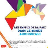 séminaire de réflexion le 30.01.2016/Mvt de la Paix-CGT