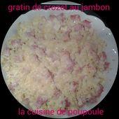 Gratin de Crozets au jambon et comté au thermomix - La cuisine de Poupoule