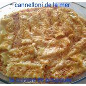 Cannellonis de la mer au thermomix - La cuisine de Poupoule