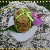 Cookies à la pistache au thermomix ou kitchenaid - La cuisine de poupoule