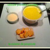 Velouté de poireau carottes au thermomix - La cuisine de poupoule