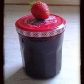 Confiture de fraise au thermomix - La cuisine de poupoule