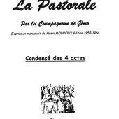 "La Pastorale Mouroux par ""Lei Coumpagnoun de Gèmo"" - l'estrangiè e li santoun"