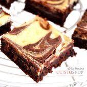Brownie Cheesecake marbré - en vidéo -