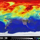 Une vidéo de la nasa nous plonge le nez dans nos émissions mondiales de CO2, édifiant, les panaches du polluant s'etendent sur tout le globe  - Le Nouveau Paradigme