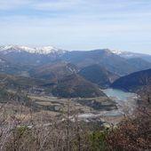 """Week-end à St André-les-Alpes : parcours VTT n°14 """"de Maurel au Chalvet"""" (19 mars 2017) - VTT a 2"""