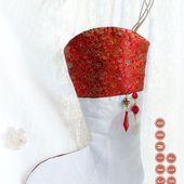 Tadaaaamm ... The stocking's pattern ... - ACKIMBO GULP !