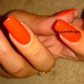 Vernis Orange, Halloween à notre porte (MISS EUROPE) - NailartAngel