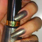 Vernis REVLON, couleur or et bronze, le temps d'une soirée vernissez vos ongles de richesse. - NailartAngel