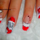 tutoriel, nail art puzzle - NailartAngel