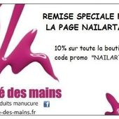 Code réduction, BEAUTE DES MAINS - NailartAngel